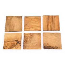 Untersetzer Quadrat, 6 Stück